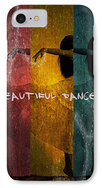 Beautiful Dancer IPhone Case by Absinthe Art By Michelle LeAnn Scott