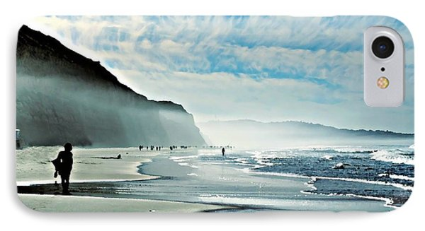 Another Beautiful Day At The Beach IPhone Case by Sharon Soberon
