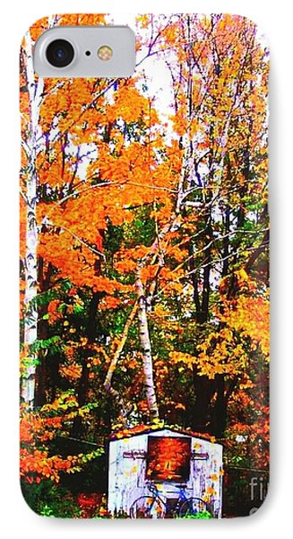 Beautiful Fall Season IPhone Case by Rose Wang