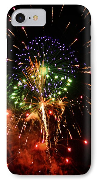 Beautiful Fireworks Works Phone Case by Kim Pate