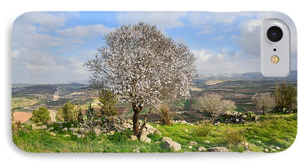 Beautiful Flowering Almond Tree IPhone Case