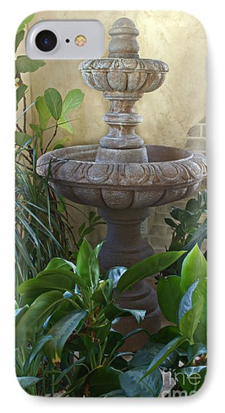 Beautiful fountain indoors with plants photograph by valerie garner - Valerie garnering ...