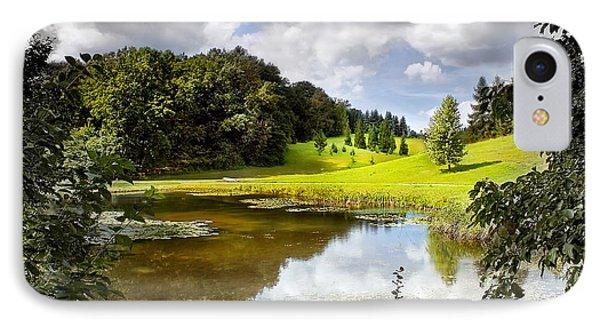 Beautiful Garden Summer Landscape IPhone Case