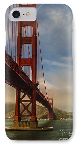 Beautiful Golden Gate Phone Case by Mitch Shindelbower