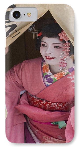 Beautiful Japanese Woman IPhone Case