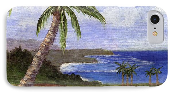 IPhone Case featuring the painting Beautiful Kauai by Jamie Frier