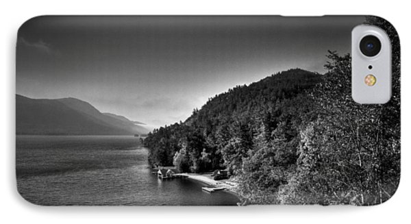 Beautiful Lake George Phone Case by David Patterson