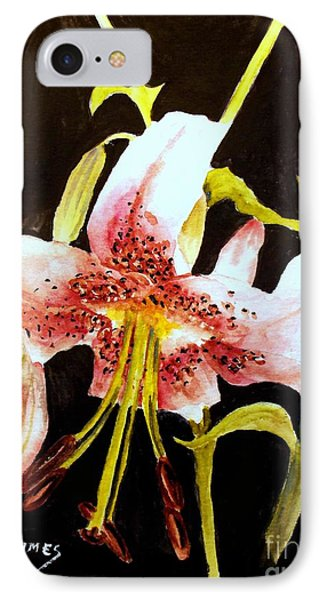 Beautiful Lily IPhone Case by Carol Grimes