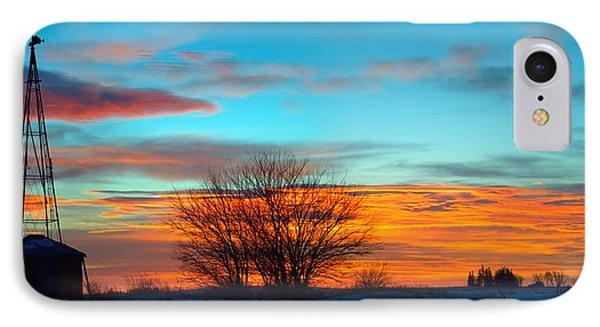 Beautiful Mornin' Panorama IPhone Case by Bonfire Photography
