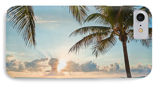 Beautiful Morning In Ft. Lauderdale Florida Phone Case by Sharon Dominick