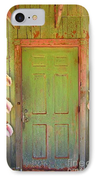 Beautiful Old Door With Seashells Phone Case by John Malone