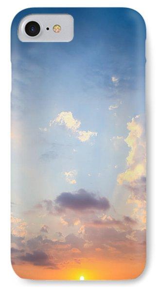 Beautiful Orange Sunset IPhone Case