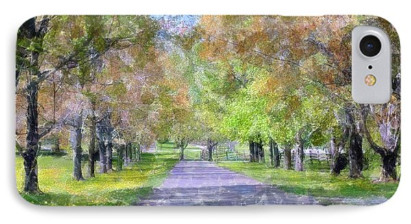 Beautiful Pathway Phone Case by Kathleen Struckle