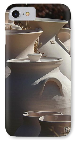 Beautiful Pottery IPhone Case by Christy Ricafrente