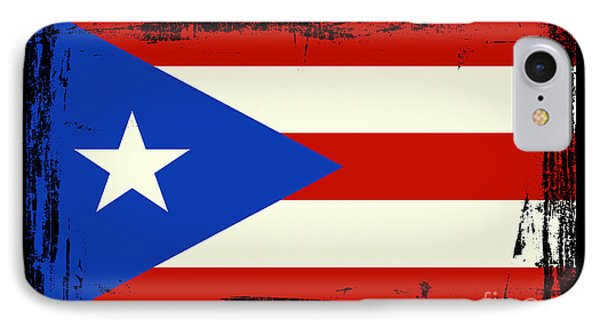 Beautiful Puerto Rico Flag IPhone Case by Pamela Johnson