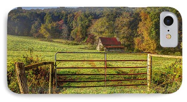 Beautiful Reds Of Autumn Phone Case by Debra and Dave Vanderlaan
