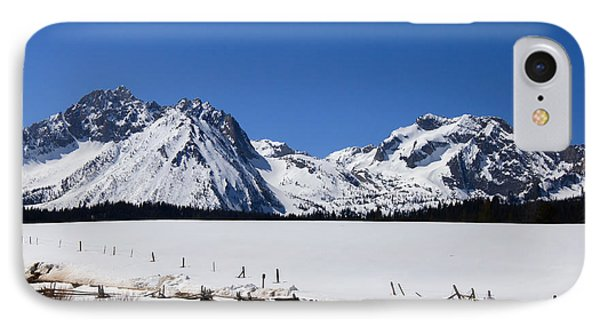 Beautiful Sawtooth Mountains Phone Case by Robert Bales