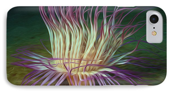 Beautiful Sea Anemone 1 Phone Case by Lanjee Chee