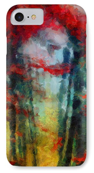 IPhone Case featuring the painting Beautiful Secrets by Joe Misrasi