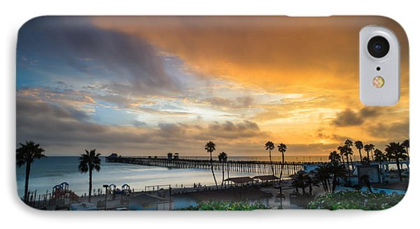 Beautiful Southern California Sunset IPhone Case by Larry Marshall