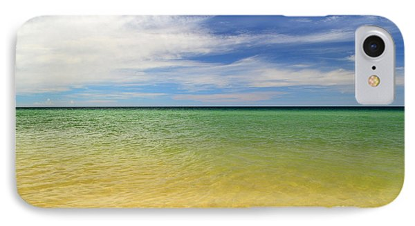 Beautiful St George Island Water IPhone Case by Holden Parker