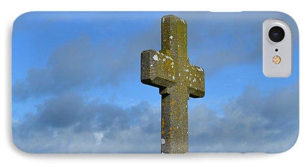 Beautiful Stone Cross In Ireland IPhone Case