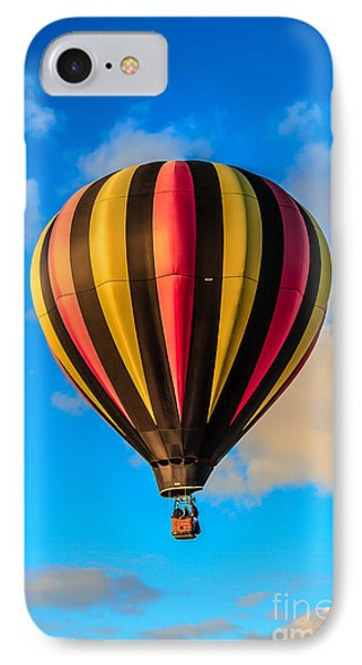 Beautiful Stripped Balloon IPhone Case by Robert Bales