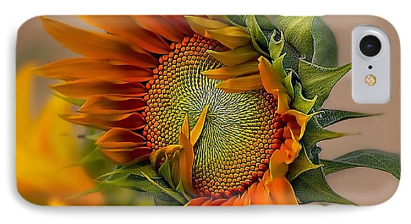 Beautiful Sunflower Phone Case by John  Kolenberg