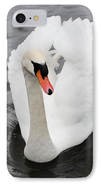 IPhone Case featuring the photograph Beautiful Swan by Tiffany Erdman