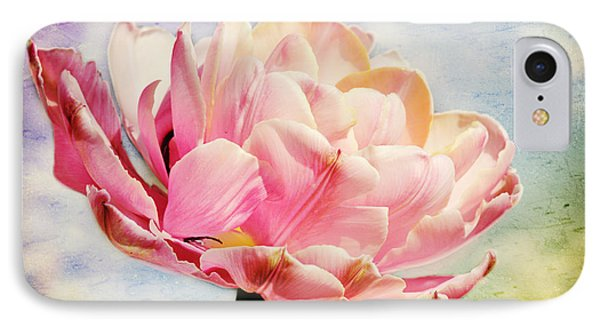IPhone Case featuring the photograph Beautiful Tulip by Trina  Ansel