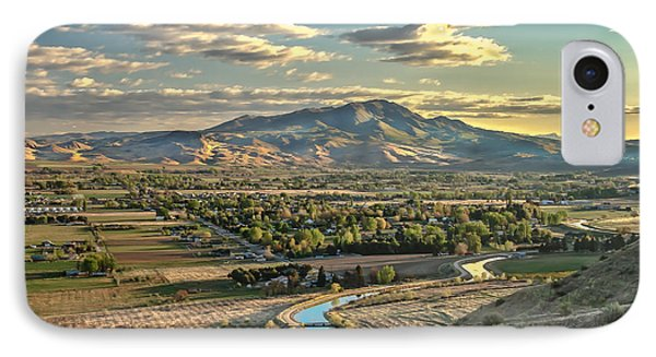 Beautiful Valley IPhone Case by Robert Bales