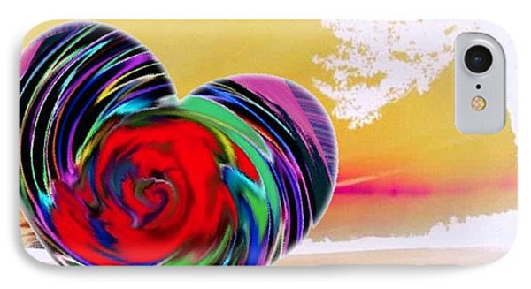 IPhone Case featuring the digital art Beautiful Views Exist by Catherine Lott