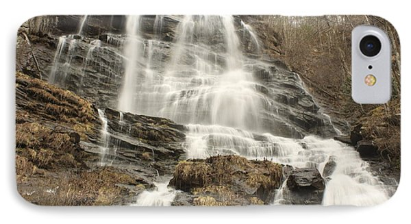 Beautiful Waterfall IPhone Case by Robert Hebert