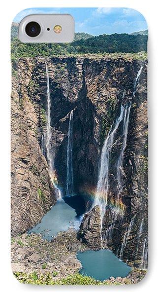 Beautiful Waterfalls In India IPhone Case