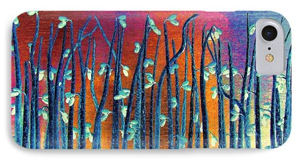 Beautiful Weeds On Venus IPhone Case by Alec Drake