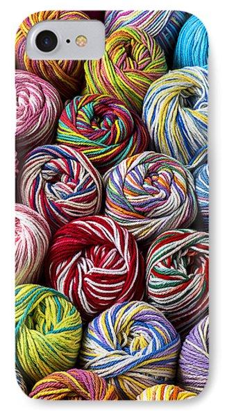 Beautiful Yarn IPhone Case by Garry Gay