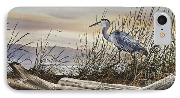 Beauty Along The Shore Phone Case by James Williamson