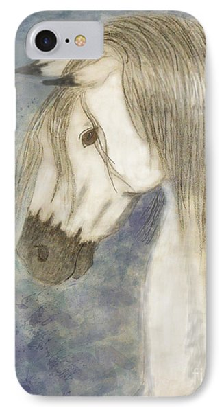 Beauty And Strength1 Phone Case by Debbie Portwood