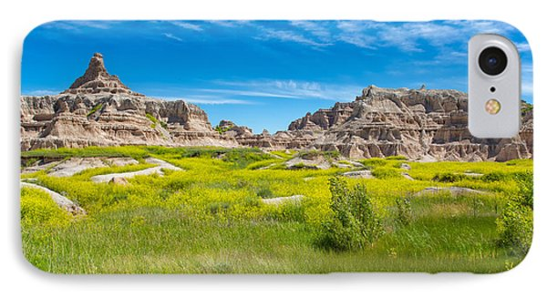 IPhone Case featuring the photograph Beauty And The Badlands by John M Bailey