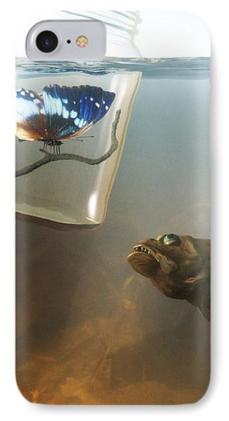 Beauty And The Beast IPhone Case by Cynthia Decker