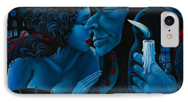 IPhone Case featuring the painting Beauty And The Beast by Igor Postash