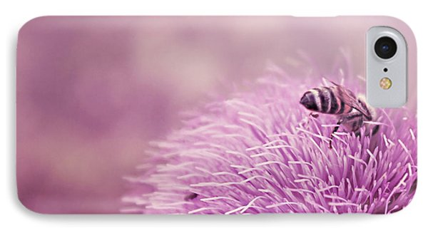 Beauty And The Bee IPhone Case by Trish Mistric