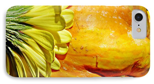 Beauty And The Squash 3 Phone Case by Sarah Loft