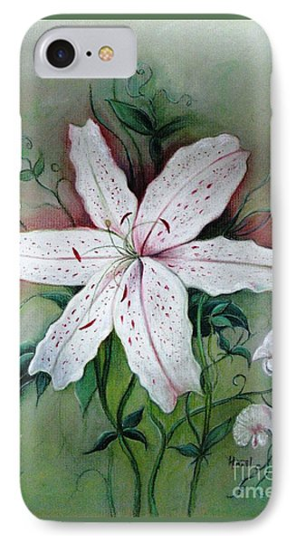 IPhone Case featuring the painting Beauty For Ashes by Hazel Holland