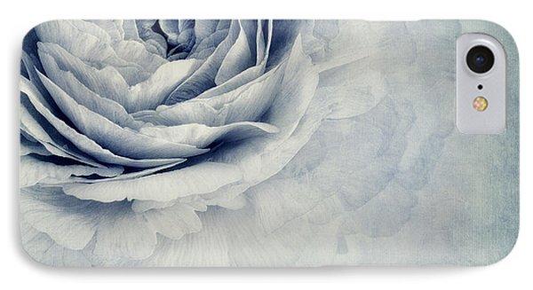 Beauty In Blue IPhone Case by Priska Wettstein