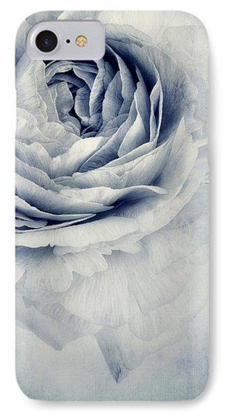 Beauty In Blue Phone Case by Priska Wettstein