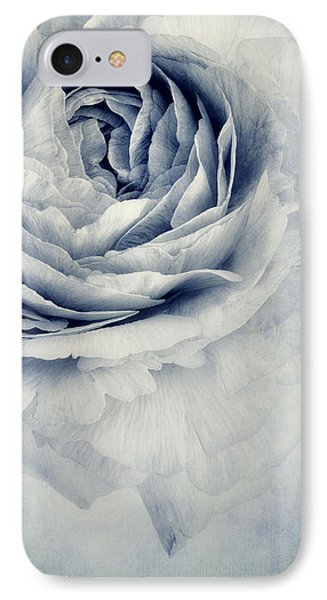 Beauty In Blue IPhone Case by Priska Wettstein