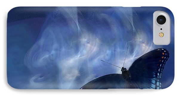 Beauty In Blue Phone Case by Sylvia Thornton