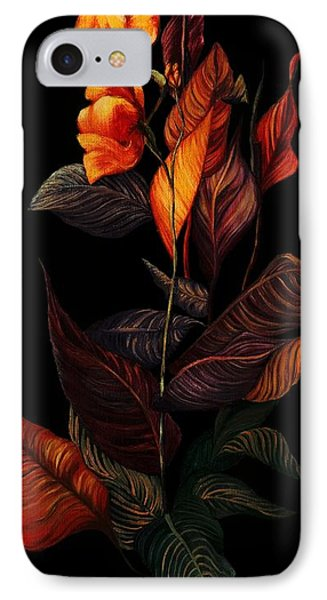 IPhone Case featuring the painting Beauty In The Dark by Yolanda Raker
