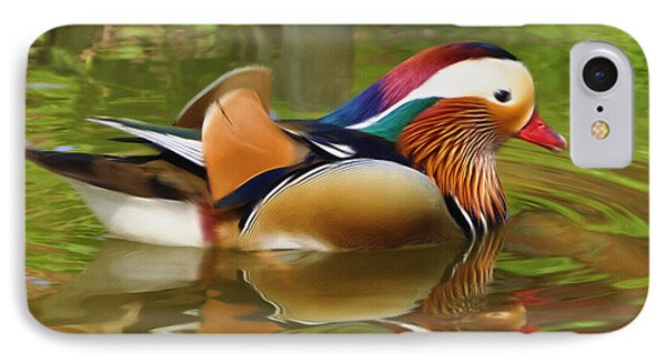 Beauty In The Pond Phone Case by Ayse Deniz